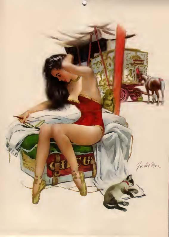 Esquire Glamour Gallery (1948) (Calendar)