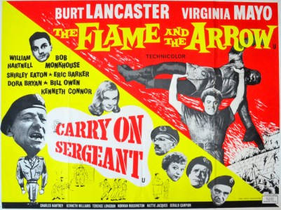 carry on sergeant flame arrow - cinema quad movie poster (1).jpg