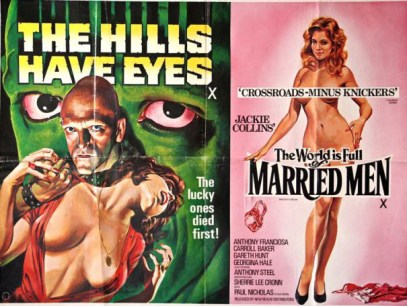 The Hills Have Eyes & The World is full of Married Men Double Bi