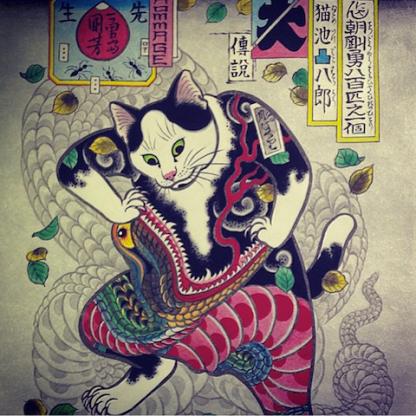 monmon-cats-Kazuaki-Horitomo-7