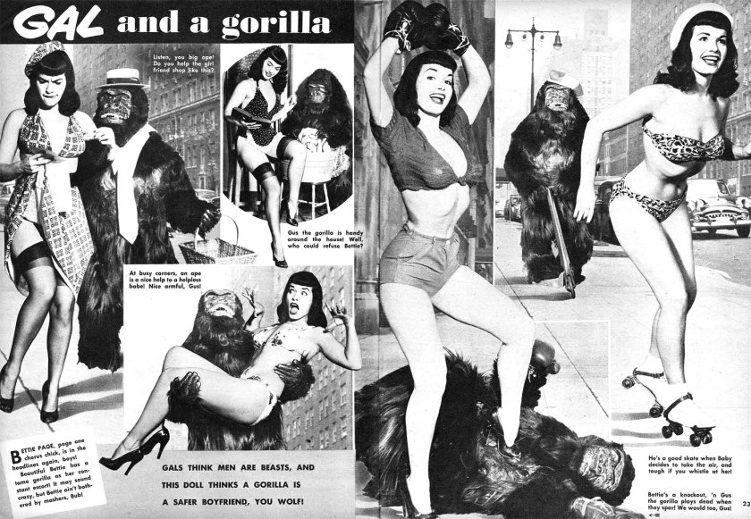 bettie-page-gorilla-wink-magazine-1954