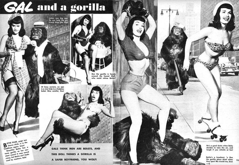 bettie-page-gorilla-wink-magazine-1954