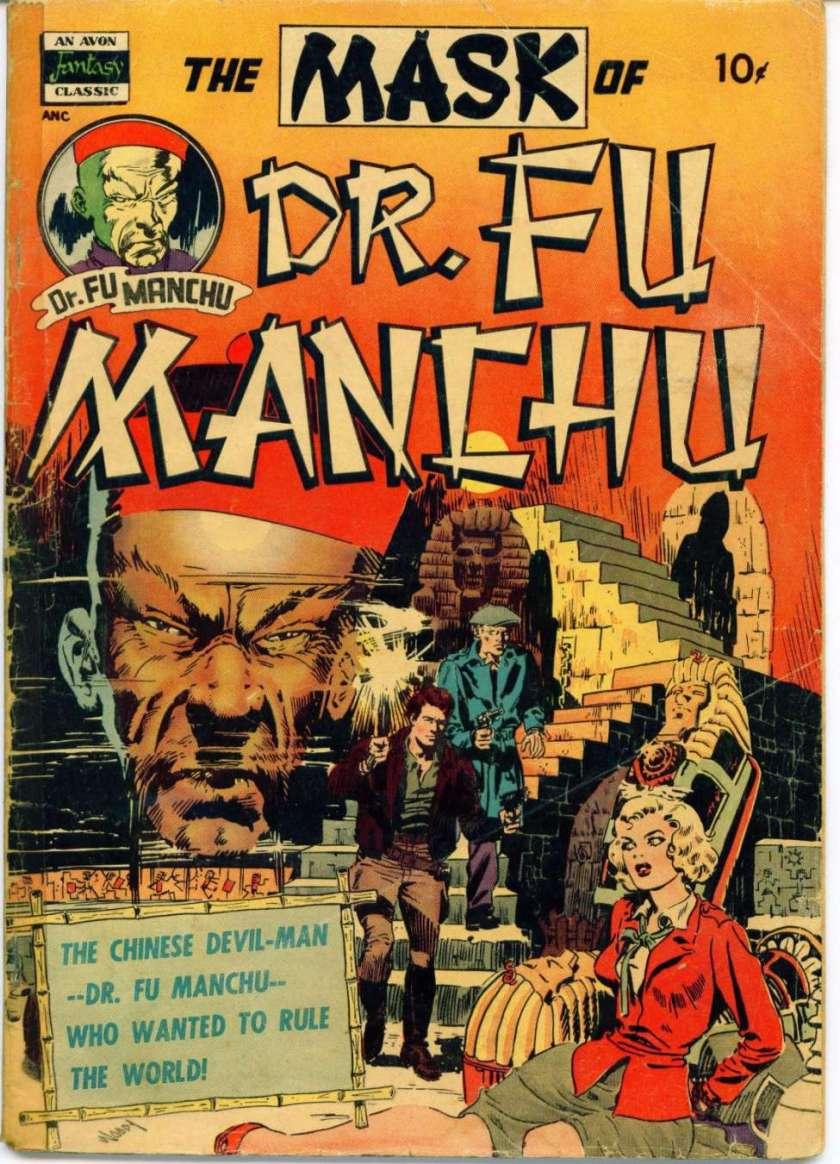 fu-manchu-comic