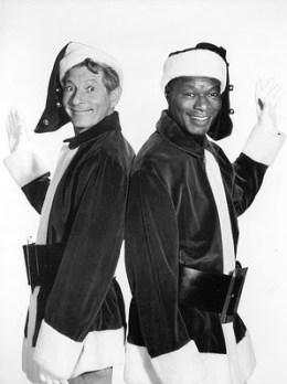 Danny Kaye and Nat King Cole