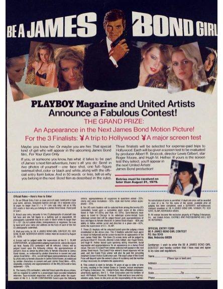 007 Playboy Contest
