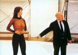 Maurice Binder and Diane Hsu shoot the title sequence