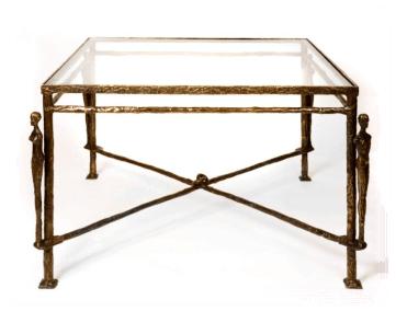 Giacometti Caryatids Tea Table