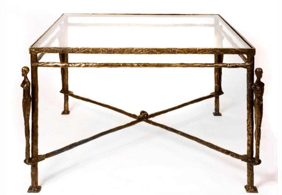 Caryatids Bronze Table