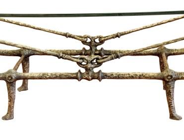 Giacometti Table Detail