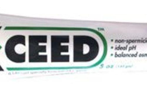 X-ceed non-spermicidal lubricant