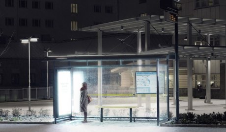 By replacing advertising lights with anti-SAD light therapy bulbs in 30 city bus stops, Umeå Energi transformed functional urban infrastructure into mental health boosting units.