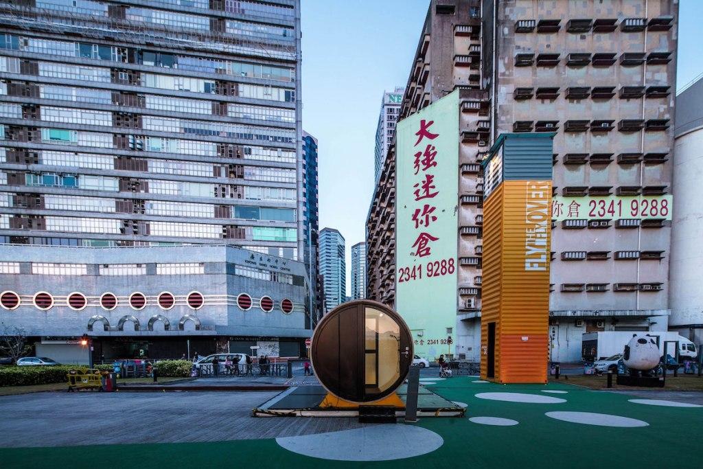 Opod Tube House Hong Kong Repurposed Water Pipe
