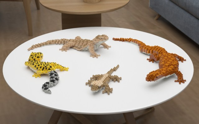 reptile lego kits for adults - gifts for reptile lovers 2019