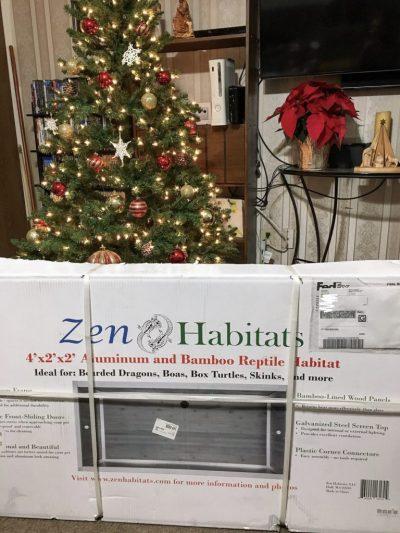 Zen Habitats 48x24x24 Reptile Enclosure in box