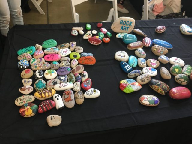 Wasatch Reptile Expo Fall 2018 - pet rocks