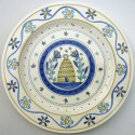 11 Beehive plate