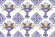 Delft Fruit tiles