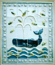 Whale tiles