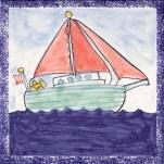 Boat tile 16