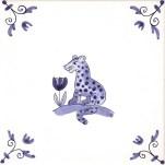 Delft Animal tile 9