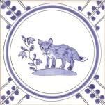 10 Fox tile