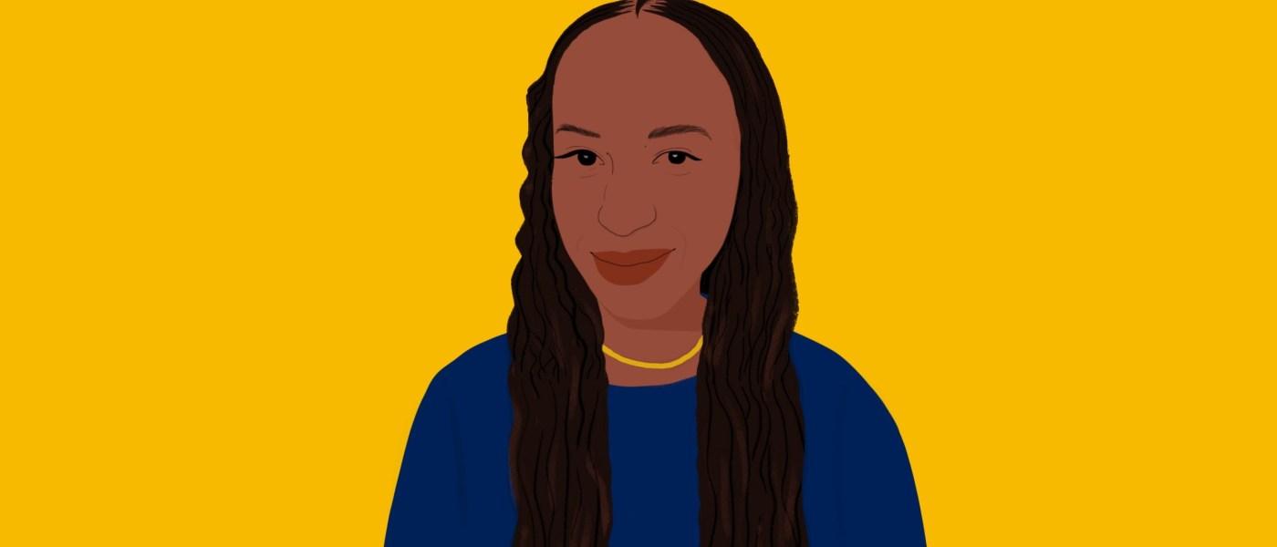 An illustration of Paula Akugizibwe.