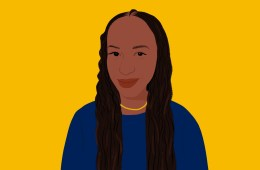An illustration of Paula Akugizibwe.