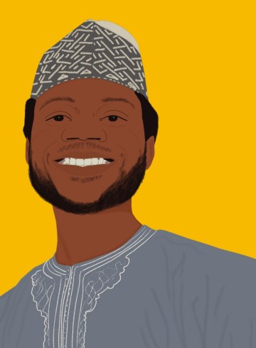 An illustration of Abdulrasheed Isah