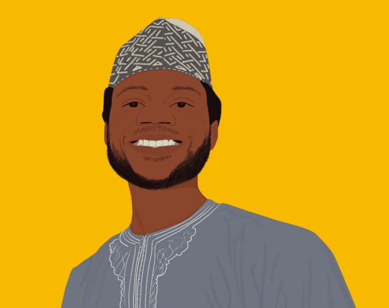 An illustration of Abdulrasheed Isah