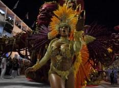 BRAZIL-RIO-CARNIVAL-PARADE-UNIAO DA ILHA
