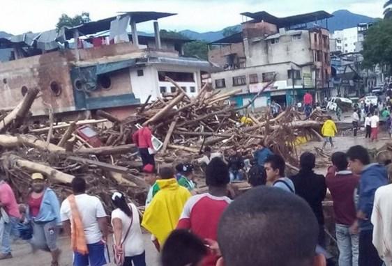 234 los muertos por inundaciones en Colombia