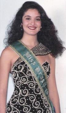 Miss Brasil - Minas Gerais - Tatiana Paula Alves