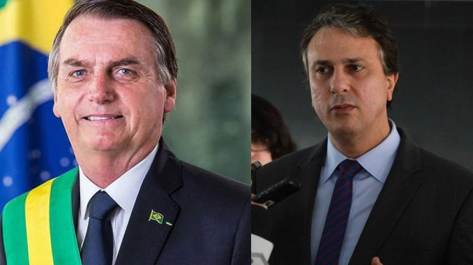 Resultado de imagem para O governador do Ceará, Camilo Santana, elogiou o governo de Bolsonaro e criticou presidentes anteriores
