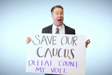 Keep My Voice, Caucus is not a dirty word