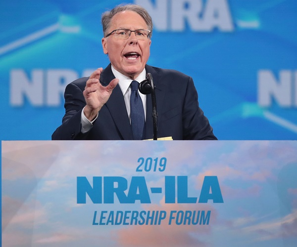 Wayne LaPierre to Newsmax TV: 'Constitutional Fight, Bigger Than the NRA'