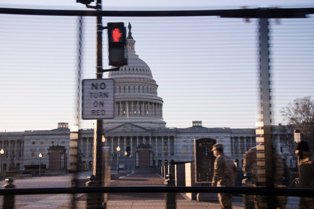 Why Are There Still Military Troops And Fences In DC?