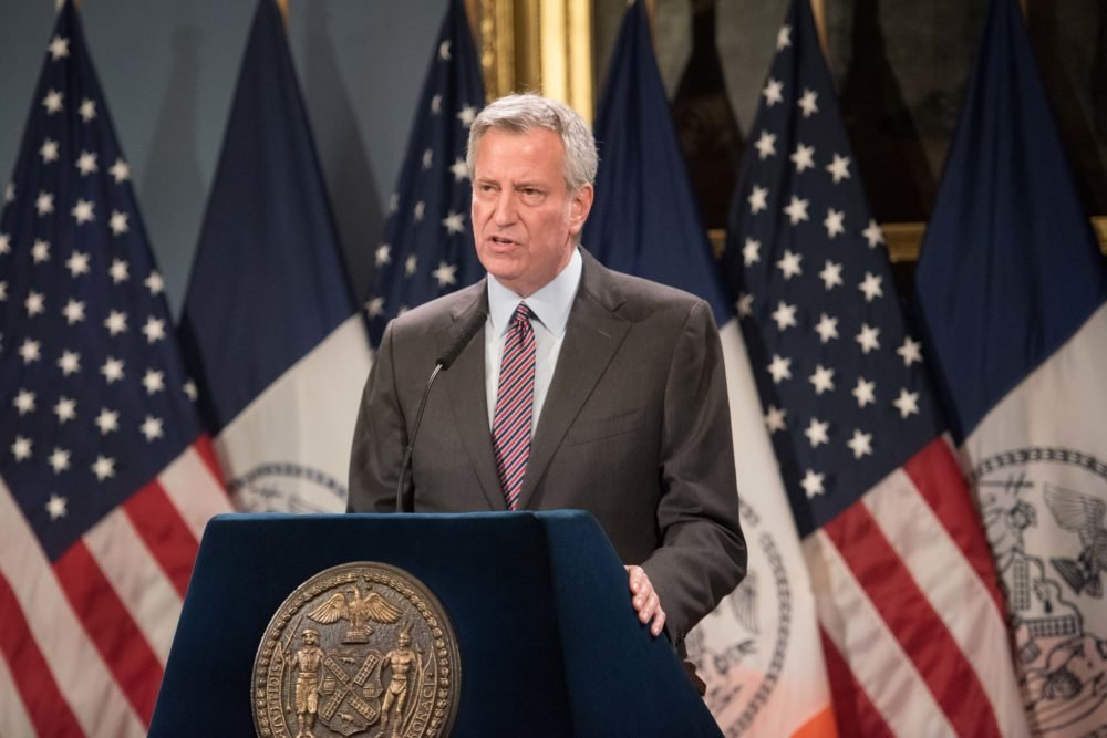 De Blasio Encourages NYPD To Confront Noncriminal Conduct They Deem Hateful