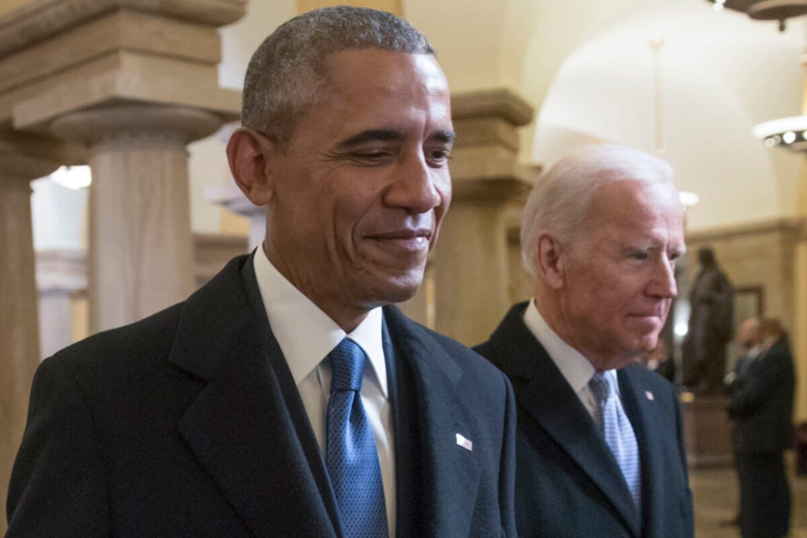 Biden In 'Regular' Contact With Obama To 'Consult And Talk About A Range Of Issues': WH Official