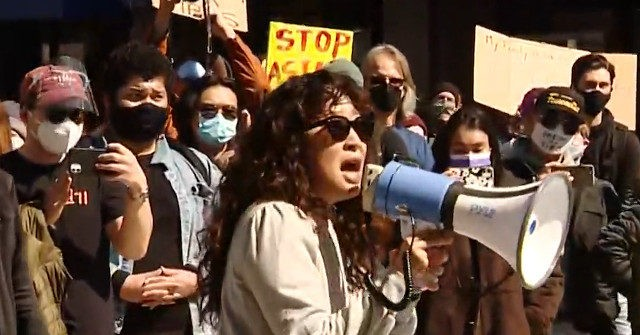 Actress Sandra Oh Joins 'Stop Asian Hate' Protest in Pittsburgh
