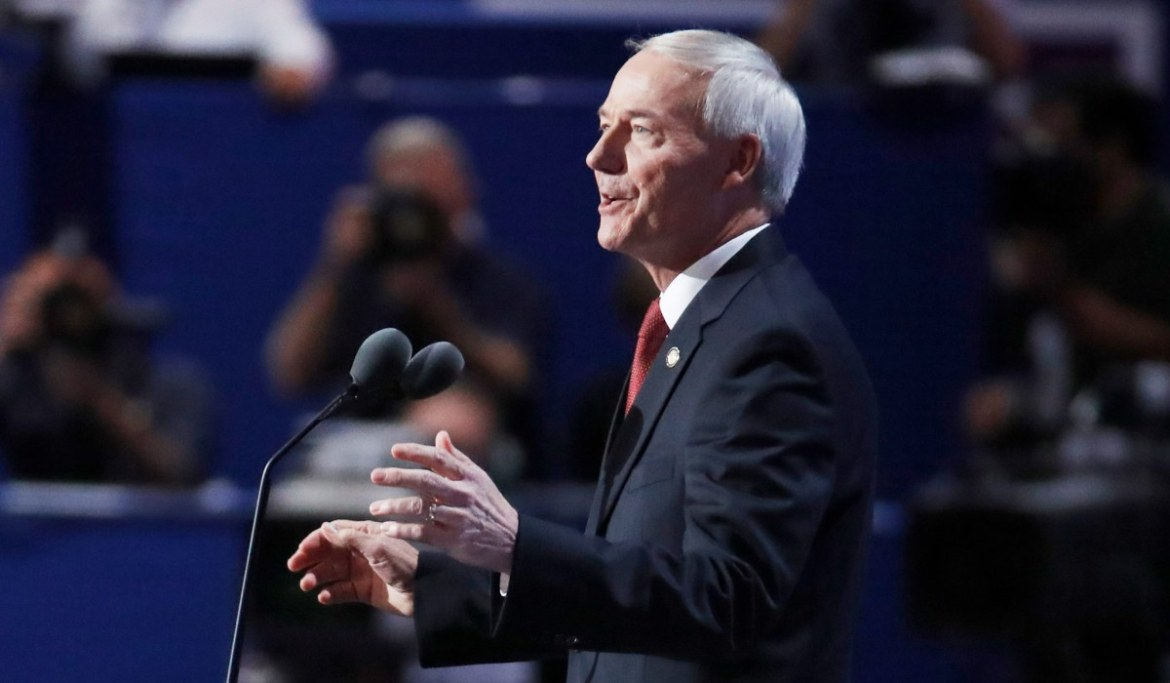 Arkansas Governor Says Veto on Trans Youth Bill Aligns with Conservative Values