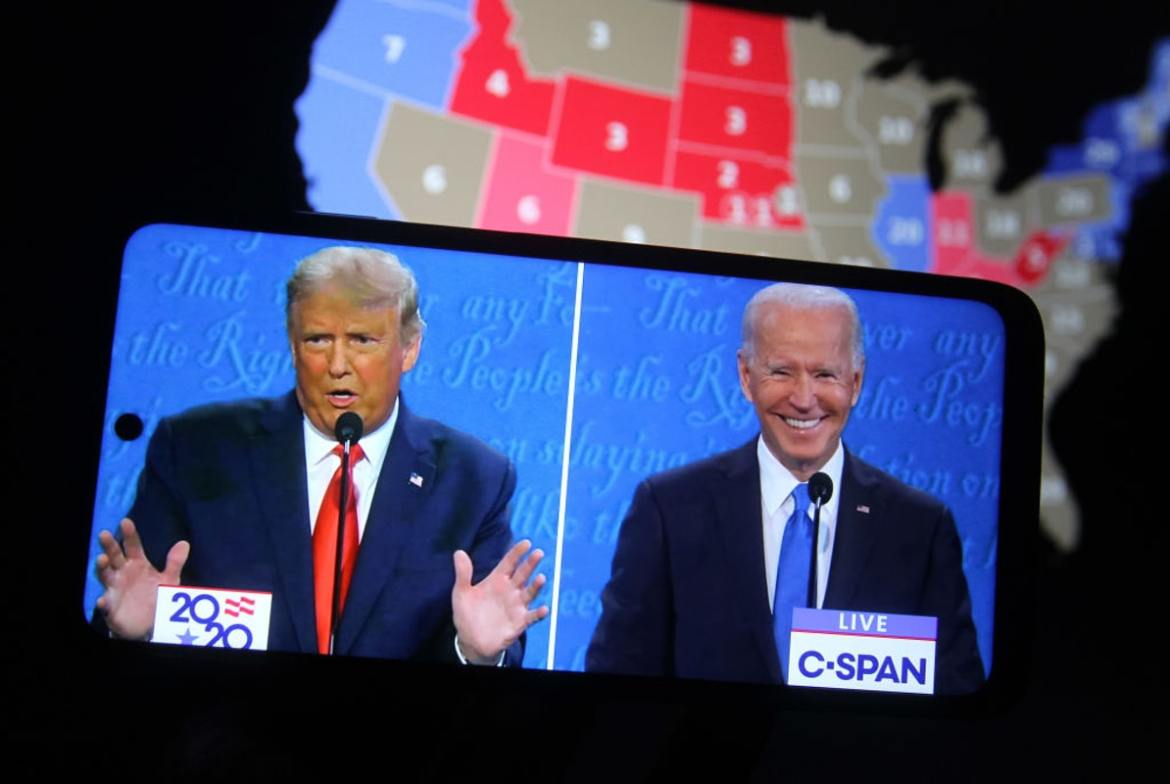 Media Outlets Bombarded Trump With Mostly Negative Coverage. Now They Shower Biden With Mostly Positive Coverage, Study Finds.