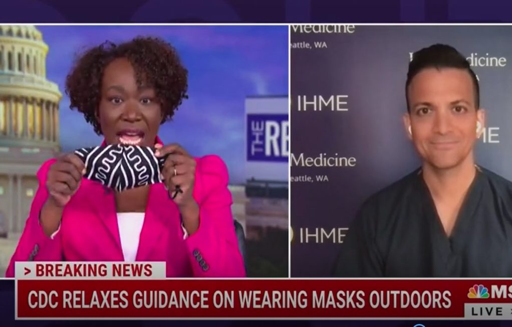 Seriously, Pray For Joy Reid And Everyone Who Double Masks On A Jog