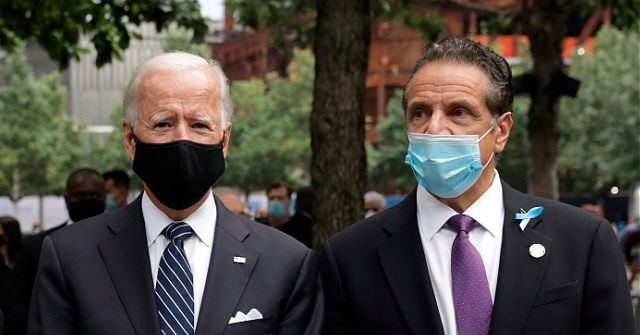 Biden Has Andrew Cuomo Lead White House COVID Calls with Governors
