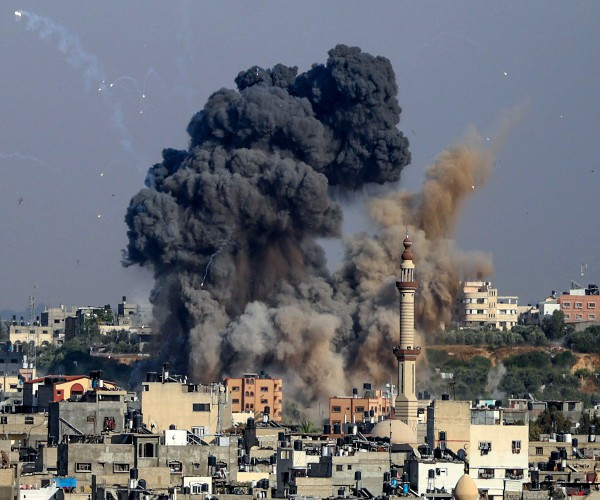 Israel-Hamas Cease-Fire Goes Into Force, Sparking Celebrations