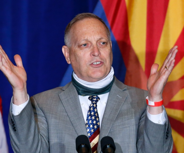 Rep. Andy Biggs to Newsmax: Enforced Mask Wearing Is Neo-Fascism