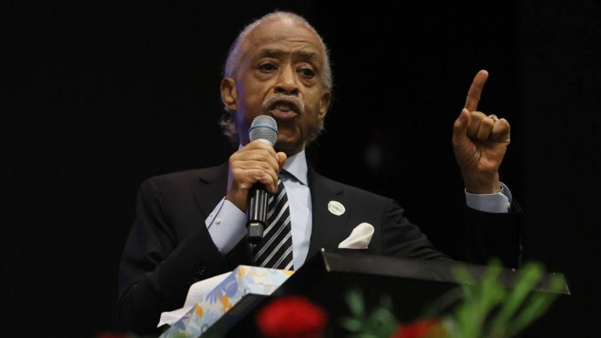 Rev. Al Sharpton Calls Out Sen. Tim Scott At Andrew Brown Jr. Funeral: 'What Do You Mean America Is Not Racist?!'