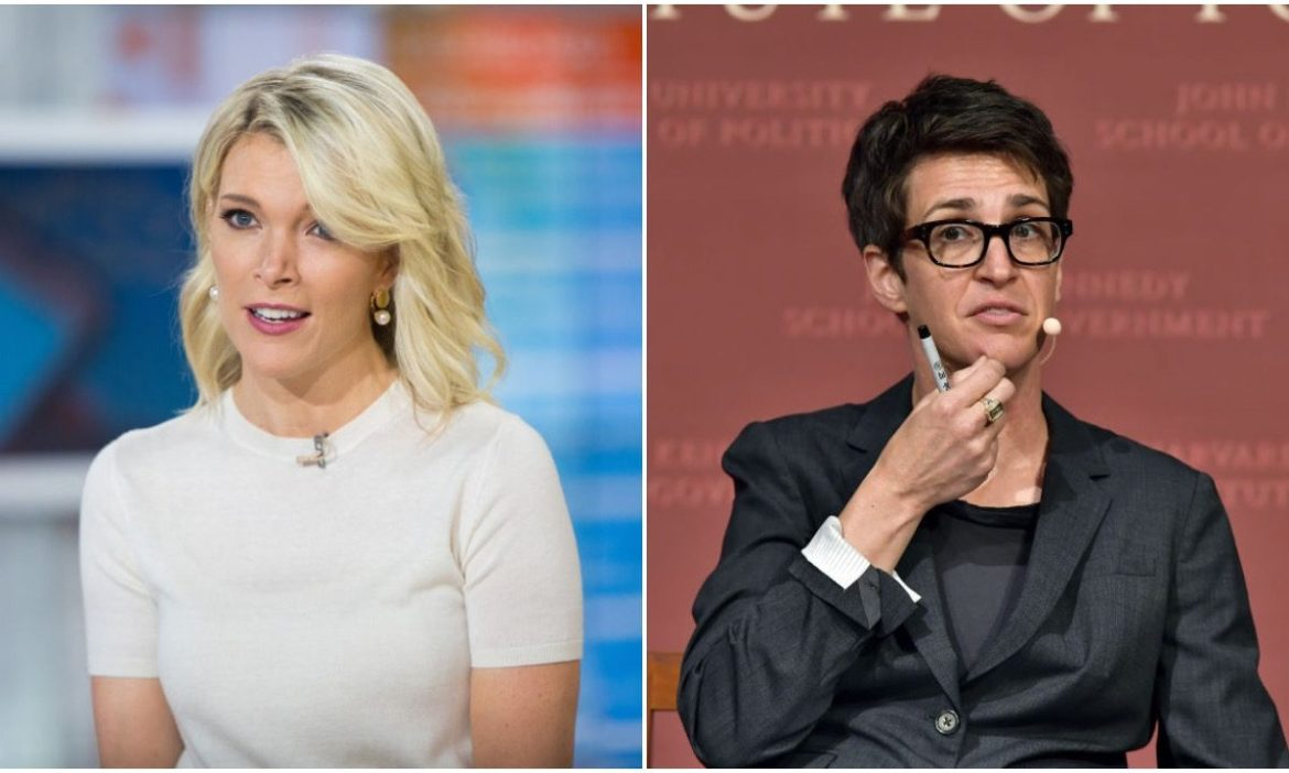 Megyn Kelly Trolls Maddow After Maddow Says She Has To 'Rewire' Herself Not To See Unmasked People As A Threat