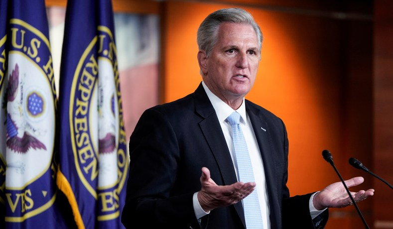 Kevin McCarthy Caught on Hot Mic Saying He's 'Lost Confidence' in Liz Cheney