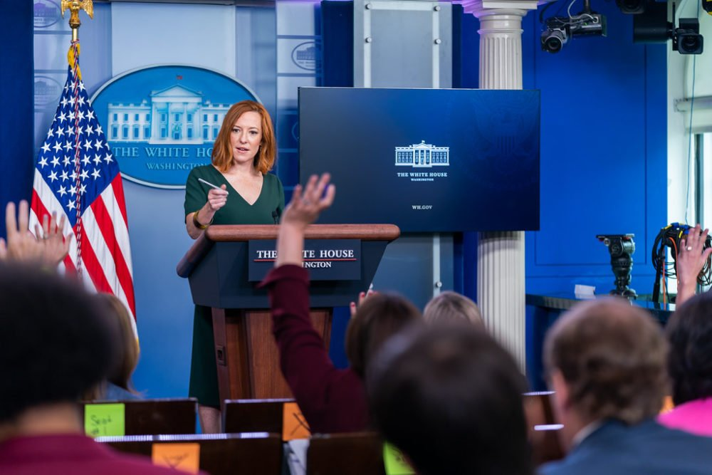 Jen Psaki Doubles Down On Claiming Republicans Wanted To Defund The Police