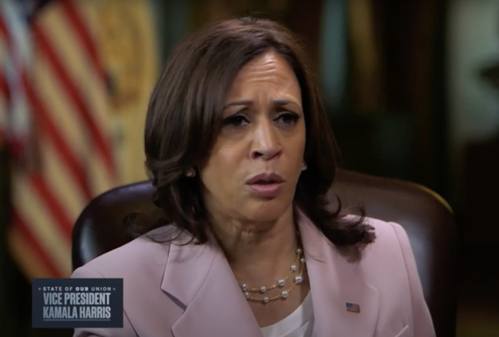 Kamala Harris Claims It's 'Almost Impossible' For Rural Americans To Make A Photocopy
